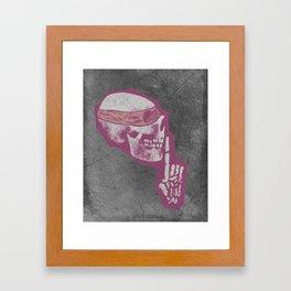 Dead Quiet Framed Art Print