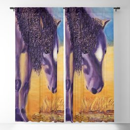 We graze | On broute Blackout Curtain