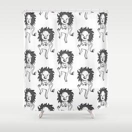 Oppa Gangnam Style Lion Shower Curtain