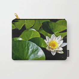 Pond Lilly Carry-All Pouch
