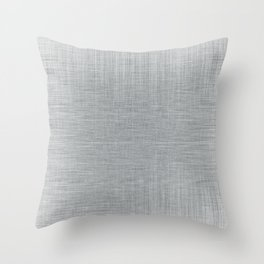Pale Blue Minimal Hatching Home Goods Pattern Throw Pillow