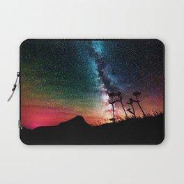 Colorful Milky Way Landscape Laptop Sleeve