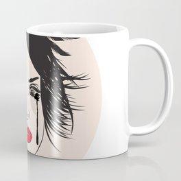 Lana and Her Red Lips - Musically Digital Fan Art Coffee Mug