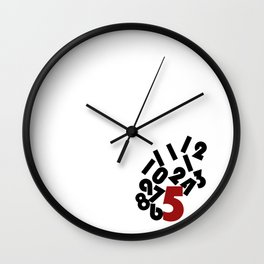 Funny Work Clock Wall Clock