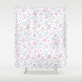 Cotton Candy Club Shower Curtain