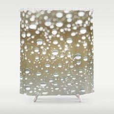 neutral rain Shower Curtain