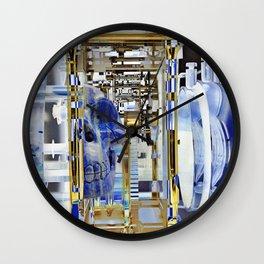 Lapis Skull Maschine Wall Clock