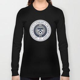 'El Presidente' Full AVID Official Seal (Senior 2014) Long Sleeve T-shirt