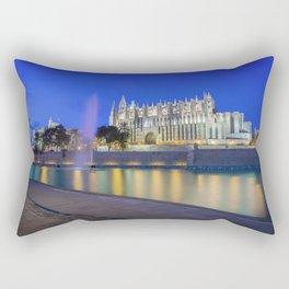 Palma Cathedral,Mallorca,Spain Rectangular Pillow