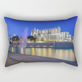 Palma Cathedral,Mallorca,Spain Rectangular Pillow