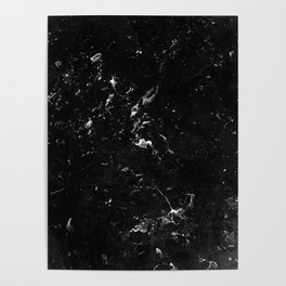 Black Marble #4 #decor #art #society6 Poster