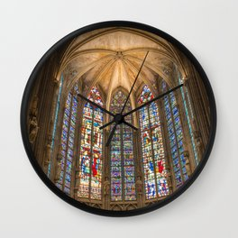 Art Piece by Héctor J. Rivas Wall Clock