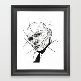 Billy Corgan Framed Art Print