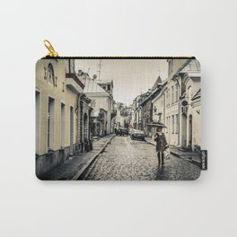 Street in Tallinn Carry-All Pouch