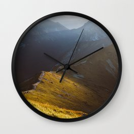 Just go - Landscape and Nature Photography Wall Clock