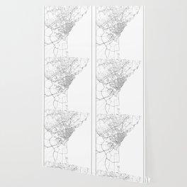 Minimal City Maps - Map Of Catania, Italy. Wallpaper