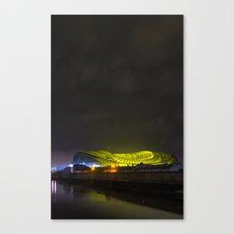 UFO landing at Sandymount Canvas Print