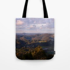 View from Mt Lofty Tote Bag