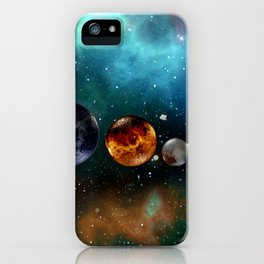 God and the Cosmos by GEN Z iPhone Case
