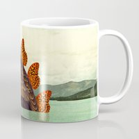 kaiju Mugs featuring Kaiju Vulfly by Pairadactyl