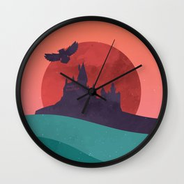 Hogwarts Summer Wall Clock