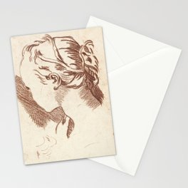 18th-Century Teckning Stationery Cards