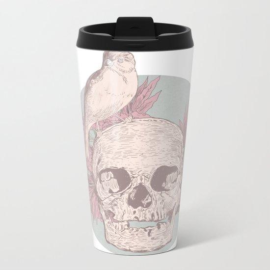 Smile Metal Travel Mug