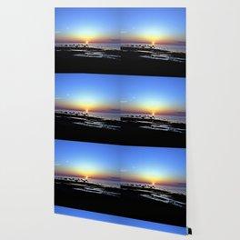 Wonderful Sunset Seascape Wallpaper