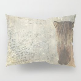 Iceland, forged by fire and ice Pillow Sham