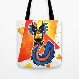 Axolotl Wolverinee Cute Little Cosplayer (visually smoother version) Tote Bag