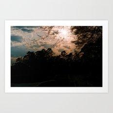 Texas Sun Art Print