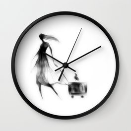 cool sketch 32 Wall Clock