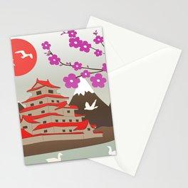 Japanese Pagoda Stationery Cards