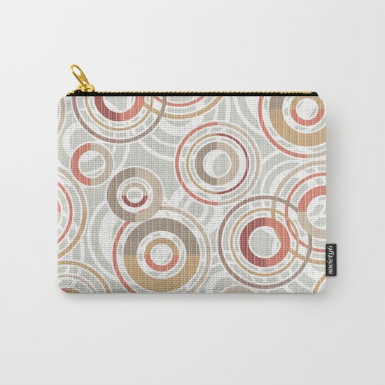 Abstraction.Circles and rings. Carry-All Pouch