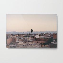 Marrakech Metal Print