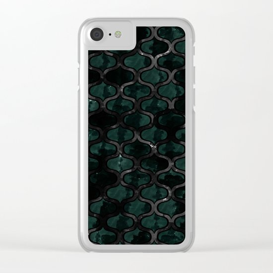 Abstract 48 Clear iPhone Case