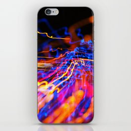 Lights in Kyoto IV iPhone Skin