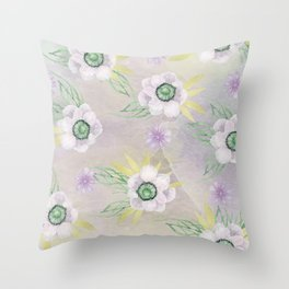 Jade and Kukac Throw Pillow