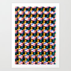 Spattern Art Print