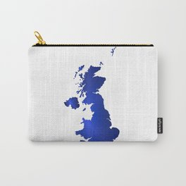 United Kingdom Map silhouette Carry-All Pouch