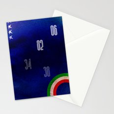 Italy World Cup Stationery Cards