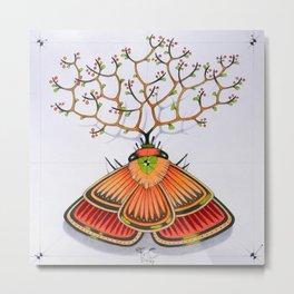 tree moth (ORIGINAL SOLD). Metal Print