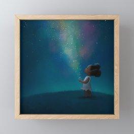 Wish Jar Framed Mini Art Print