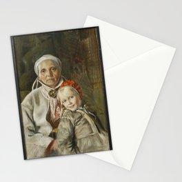 ANDERS ZORN,  Mona och Karin  1885 Stationery Cards