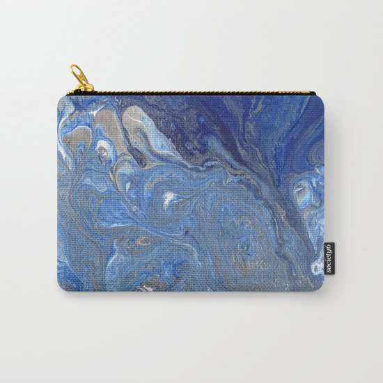 River of Silver Blues Carry-All Pouch