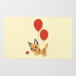 Balloon Cat Rug