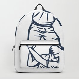 Go Long Or Go Home - Golf Backpack