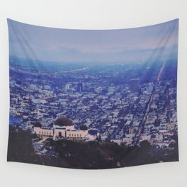 Griffith Observatory Wall Tapestry