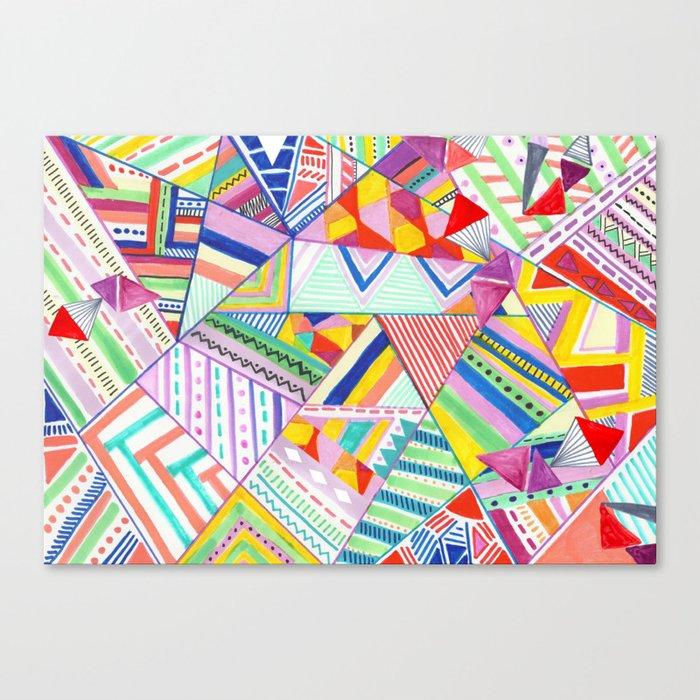 CIRCUS -C A N D Y- POP Canvas Print