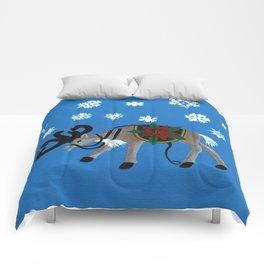 Ready for Santa's Sleigh Comforters
